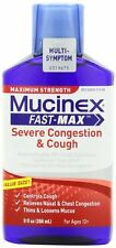 Mucinex Fast-Max Severe Congestion & Cough Liquid 9 oz Each