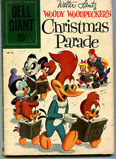Walter Lantz #40 VG Woody Woodpecker Christmas Parade  Dell Giant    CBX13A