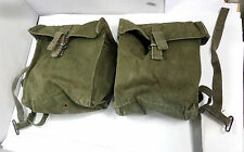 ORIGINAL BRITISH ARMY 58 PATTERN DOUBLE KIDNEY POUCHES