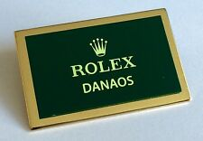 ROLEX DANAOS Watch Display Plaque CELLINI 4233 4243 6229 GOLD PINK White Yellow