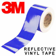 3M Scotchlite 580 Reflective Tape - Motorbike Bike Cycling Panniers Blue UK)