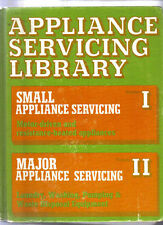 SMALL & LARGE Appliance Servicing Library 2 V-in-1 Book Scharff, 4+ lb,FREE SHIP