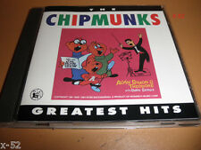 ALVIN & the CHIPMUNKS greatest hits CD harmonica TWIST whistle while you work