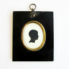 A Georgian Period Silhouette Portrait of a Child, English 19th Century