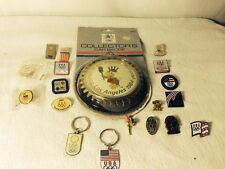 USA Olympic Car Badge 1984 Olympic Keychains And Pins Various Years Usa