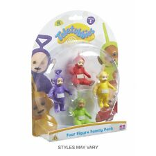 Teletubbies Four Figure Family Pack  Brand New