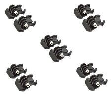 10 x Quick Release Buckle Mount Clips Compatible with GoPro HD Hero 1 2 3 3+ 4