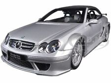 MERCEDES CLK DTM AMG CONVERTIBLE SILVER 1/18 DIECAST MODEL CAR BY KYOSHO 08462