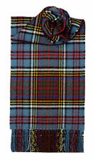 Lochcarron of Scotland 100% Lambswool Anderson Tartan Scarf Made in Scotland