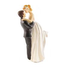 ROMANTICO LIFT sposa e sposo CAKE TOPPER matrimonio ballo COPPIA figura xyl1025