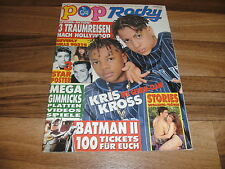 POP ROCKY  15 / 1992 mit KRIS KROSS+PRINZEN+Dr. ALBAN+RED HOT CHILI PEPPERS+KISS