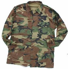 (6) TURKEY TURKISH ARMY LONG SLEEVED COMBAT SHIRT in WOODLAND CAMO