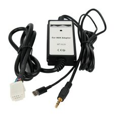 New Car Toyota Iphone 5,6 Charging 3.5mm Aux MP3 Interface Adapter