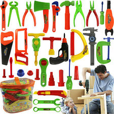 32 Pcs Plastic Simulation Repair Tool Kit For Boys Kid Children Toy Set   Funny