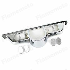 Chrome Switch Panel Accent Cover For Harley Touring Street Glide FLHT 1996-2013