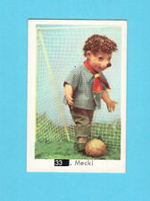 Mecki Playing Soccer #33 Scarce 1960s Beatles Puzzle Card