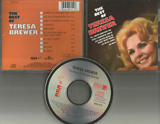 TERESA BREWER The Best of ULTRA LIMITED 10 Songs CD OUT OF PRINT No Longer made