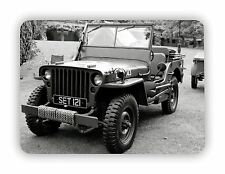 US Army Jeep WW2  Military USA Poster METAL SIGN PLAQUE Vintage Retro Poster