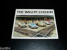 1977 Plymouth Wagons Stationwagon Gran Fury Town & Country sales brochure