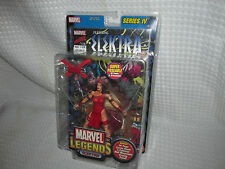 MARVEL LEGENDS TOY BIZ SERIES 4 ELEKTRA ACTION FIGURE W/COMIC BOOK