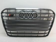 AUDI A5 S5 COUPE GRILLE 8T0853651P CENTER GRILL OEM 15 16 2013 2014 2015 2016