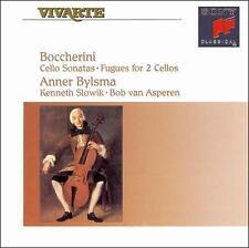 Boccherini: Cello Sonatas; Fugues for 2 Cellos, , , Good