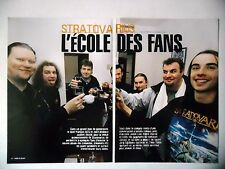 COUPURE DE PRESSE-CLIPPING :  STRATOVARIUS [6pages] 02/2003 Timo Tolkki,Fans