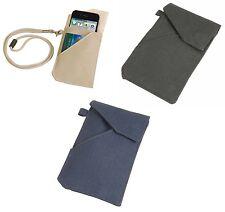 custodia universale smartphone cellulare in nylon ripstop con calamita 8 x 13 cm