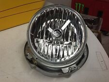"""HARLEY TOURING 7"""" INCH HEADLIGHT ASSEMBLY WITH MOUNTING BUCKET"""