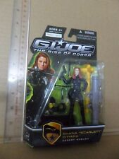 "G.I. Joe Movie The Rise of Cobra 3 3/4"" Action Figure -  SHANA ""SCARLETT"" O'HARA"