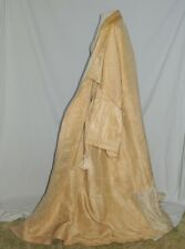 Rare!! 17th - 18th 1600's - 1700's Venetian Italian Doges Moire Silk Coat / Robe