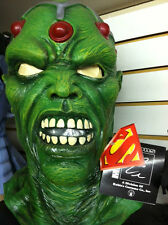 BRAINIAC ADULT OVER HEAD HALLOWEEN MASK SUPERMAN RUBIES NEW