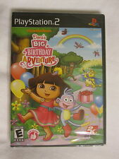 Dora's Big Birthday Adventure Nickelodeon (Playstation PS2) Brand New, Sealed~