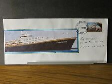 Cruise Ship OCEAN BREEZE Naval Cover 1999 Cachet