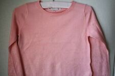 BONPOINT BABY PINK GLITTER SWEATER 3 YEARS