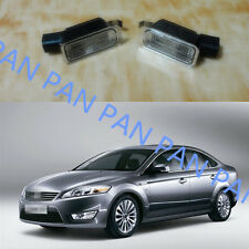 2X License Number Plate Lamp Light for Ford Mondeo Mk4 2007-2010