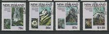 New Zealand 1987 Centenary of National Parks fine used set stamps