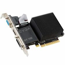 Low Profile EVGA NVIDIA GeForce GT 710 2 GB Graphics Card VGA/DVI/HDMI