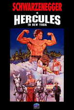 HERCULES IN NEW YORK Movie POSTER 27x40 Arnold Schwarzenegger Arnold Stang