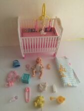 Mattel Barbie Krissy , crib & accessories