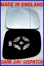 VW TRANSPORTER T5 MULTIVAN 2003-2009  MIRROR GLASS BLIND SPOT HEAT DRIVER SIDE