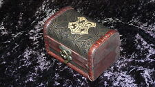 Small Hogwarts wooden chest, Harry Potter trunk, handmade