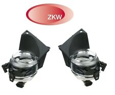 BMW E39 530i 540i Pair Set of 2 Front Left and Right Fog Light Lamps OEM ZKW