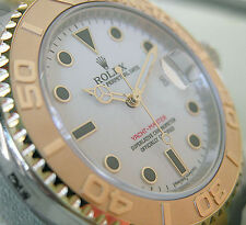 Rolex YACHT-MASTER 16623 Mens Steel & Yellow Gold Oyster White Dial 40MM