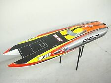 "140 KMPH RTR 55"" 1400mm Large Super Fast Twin Motor Genesis FE EP RC Boat"
