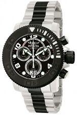 New Mens Invicta 11161 Sea Hunter Pro Diver Chronograph Black Dial Watch