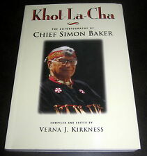 KHOT-LA-CHA CHIEF SIMON BAKER SQUAMISH SALISH INDIAN VANCOUVER BRITISH COLUMBIA