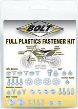 Bolt MC Hardware Full Plastic Fastener Kit KAW-1200024 Kawasaki KX250F 12-13