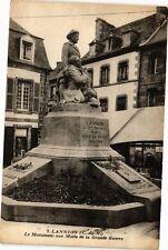 CPA Lannion-Le Monument aux Morts de la Grande Guerre (230269)