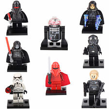 8 MiniFigures Star Wars R2-D2 Darth Vader Chewbacca building bricks toys lEGO